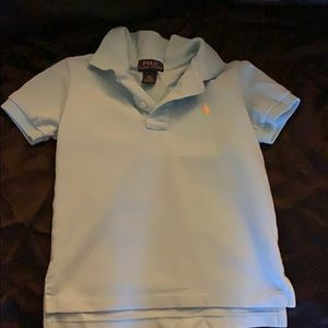 Turquoise boys polo by Ralph Lauren shirt!